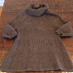 Anthropologie sleeping on snow fall sweater